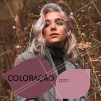 Não perca essa promoção. Agende o seu horário e venha ficar linda! #cabelos #coloracao #ahazou #ahazoucabelos #tintura #promocao #cabeleireiro