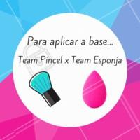 E aí, na hora de aplicar a base qual você prefere? Coloca aqui nos comentários! 😉 #base #ahazoumake #pincel #esponja #makeup #maquiagem