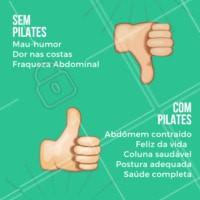 Está esperando o que para começar? Faça pilates com a gente! #pilates #amopilates #ahazou #postura #fisioterapia