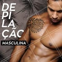 Agende já a sua sessão pelo nosso WhatsApp XX #depilacao #ahazou #chegadepelos #livre #masculina