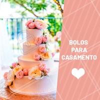 Aproveite para fazer o seu pedido! #gastronomia #ahazou #bolo #casamento #ahazoutaste #doces