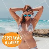 Agende já a sua sessão pelo nosso WhatsApp XX #depilacao #ahazou #chegadepelos #livre #laser