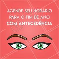 Não se esqueça de garantir o seu horário e ficar linda no fim de ano! #sobrancelha #ahazousobrancelha #designdesobrancelha