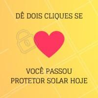 Você lembrou de proteger a sua pele hoje? ✨✨ #esteticafacial #protetorsolar #ahazouestetica #cuidadoscomapele