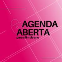 A nossa agenda já está aberta, então corre pra agendar seu tratamento antes que as datas esgotem! #beleza #ahazoubeleza #convite #agenda