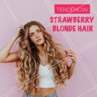 O strawberry blonde consiste num mix de cores entre um tom loiro com reflexos arruivados e mais quentes do que um loiro normal. O resultado é maravilhoso e conseguimos diversas variações deste tom. E o melhor de tudo é que é super versátil e podemos adaptar a tendência em ombré, pequenos reflexos ou look total. #tendencia #cabelos #ahazou #strawberryblonde #hair