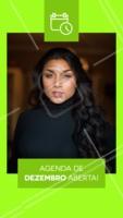 Atenção clientes! A agenda de dezembro já está aberta. Corre para garantir a sua vaga! #salao #makeup #cabelos #ahazou #agenda #dezembro
