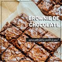 Aproveite para fazer o seu pedido! #gastronomia #ahazou #brownie #ahazoutaste #doces