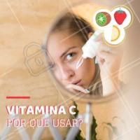 A vitamina C é essencial para ter uma pele bonita e saudável. Ela possui ação antioxidante, clareadora, estimula a produção do colágeno e rejuvenesce a pele. #vitaminac #esteticafacial #ahazou #pelelinda