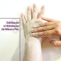 Venha fazer os cuidados especiais do SPA para mãos e pés. #manicure #pedicure #ahazou #spa #cuidados