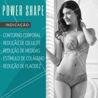 Já conhece o poder do Power Shape? Você vai se apaixonar! #powershape #esteticacorporal #ahazouestetica