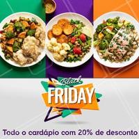Aproveite o desconto da Black Friday! #blackfriday #ahazou #restaurante #marmitas #fitness #ahazoutaste #promocao #gastronomia #desconto