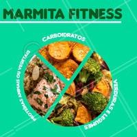 Não saia da dieta no trabalho. Temos opção de marmitas fitness para você! #marmita #ahazou #fitness #gastronomia #ahazoutaste #dieta #trabalho