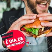 Que tal um hambúrguer hoje? #hamburguer #gastronomia #ahazoutaste #feriado