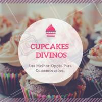 Aproveite para fazer o seu pedido! #gastronomia #ahazou #cupcake #ahazoutaste #doces #confeitaria #festas