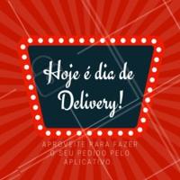 Preguiça de sair de casa não é sinônimo de comer mal. Peça nossas delícias pelo aplicativo. #food #ahazou #delivery #gastronomia #ahazoutaste #restaurante
