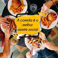 Reuna seus amigos e familiar e venha degustar uma deliciosa refeição. #ahazou #restaurante #ahazoutaste #motivacional