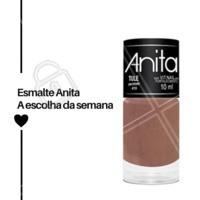 Agende o seu horário na manicure e venha usar o esmalte Tule, do Esmalte Anita. #esmaltes #ahazou #manicure #unhas #esmalteanita #ahazoumanicure
