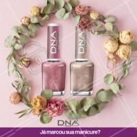 Que tal um esmalte metálico essa semana? A DNA Italy tem cores lindas! Venha fazer as unhas conosco. #ahazou #manicure #unhas #dna #ahazoumanicure