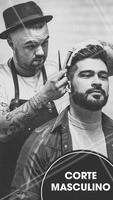 Aqui temos os melhores especialistas para deixar tudo do seu jeito! #cabelos #homem #ahazou #cortemasculino