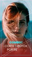 Não perca nosso combo da beleza e agende seu horário para não perder a chance! #cabelos #hair #ahazou #promocao #combo