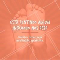 Faça sua avaliação gratuita e venha cuidar dos seus pés! #podologia #podologiacomamor #ahazou #especialista