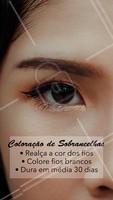 Realce a beleza das suas sobrancelhas. Agende o seu horário. #sobrancelha #ahazou #cilios #convite #horario #coloracao #mulher #beleza