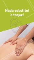 A massagem tem um efeito relaxante prolongado, é um presente que somente as mãos podem nos proporcionar. #massagem #ahazoumassagem
