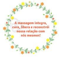A masagem tem um efeito relaxante prolongado, é um presente que somente as mãos podem nos proporcionar. #massagem #ahazoumassagem #relaxamento