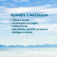 Algumas dicas pra sua massagem ser a melhor! #massagem #ahazoumassagem #massoterapia