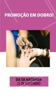 Traga sua madrinha e as duas ganham desconto nos nossos serviços! Agende seu horário 💅🏼👭 #unhas #manicure #ahazou #pedicure #promocao #diadamadrinha