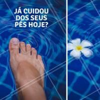 Agende já a sua visita e cuide dos seus pés ❤ #podologia #podologiacomamor #ahazou #pes #cuidados