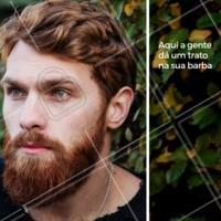 Cultivar uma barba requer paciência e dedicação. E por mais contraditório que pareça, aparar os pelos regularmente é fundamental no processo de deixar a barba crescer. Agende seu horário! #barbearia #homens #ahazoubarbearia #barba #estilomasculino