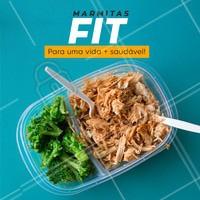 Leve nossas marmitinhas fitness pra sua dieta! Enriqueça seu cardápio e  construa uma alimentação mais saudável. #marmitinha #marmitasfit #marmitasfitness #ahazou #alimentacao