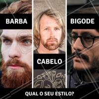 Qualquer que for o seu estilo, venha para cá que temos profissionais especializados para cuidar do seu visual. #homens #ahazoubarbearia #barba #estilomasculino