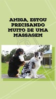 Quem mais tá se sentindo assim? 🙋 Aproveite para agendar o horário da sua massagem e venha cuidar de você. #massagem #ahazou #massoterapia