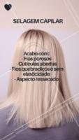 Sabe quando você hidrata o cabelo e no dia fica lindo, mas no dia seguinte o fio está ressecado? Os seus fios podem estar porosos. Quando o fio está danificado, a cutícula fica aberta e ressecada. Por isso a selagem capilar ajuda a selar os fios e fazer com que a hidratação dure mais, além de trazer brilho para o cabelo! #selagemcapilar #ahazou #selagem #cabelo