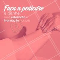 Quem não gosta de estar com os pés hidratados e lindos? Aproveite a promoção! 😍 #unhas #manicure #ahazou #pedicure #promocao