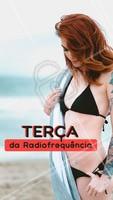 Aproveite para fazer sua radiofrequência com precinho especial, só nessa Terça! #esteticacorporal #ahazou #radiofrequencia