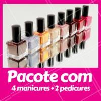 Cansada de toda semana ter que marcar um horário na manicure? Faça o nosso pacote de 4 manicures + 2 pedicures e aproveite! #unhas #manicure #ahazou #pedicure #promocao