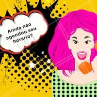 Corre pra agendar seu horário  e ficar mais linda! #salaodebeleza #ahazou #beleza