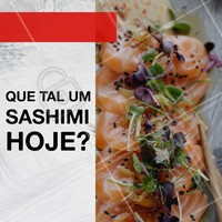 Venha saborear essa delícia! #alimentacao #ahazou #japones #sashimi
