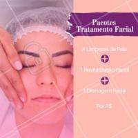 Aproveite o pacote de tratamento facial para o final de ano. #esteticafacial #ahazou #pele #promocao