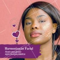 Fazemos protocolos de harmonização facial. Venha agendar a sua avaliação. #esteticafacial #ahazou #rosto #harmonizacao