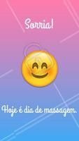 Pode comemorar e ficar feliz porque hoje é dia de massagem! #massagen #ahazou #massoterapia