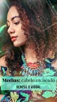 As mechas no cabelo cacheado renovam o visual de uma forma suave, natural e muito moderna! Aposte 😍 #cachos #ahazou #cacheado #cabelo