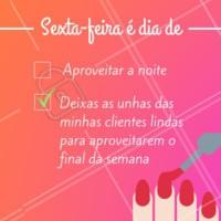 As unhas feitas mudam a auto-estima de qualquer mulher. E esse é o meu compromisso ❤ #unhas #motivacional #ahazou #manicure #pedicure