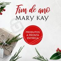 Natal é a época perfeita para presentear quem você mais ama com produtos Mary Kay! Temos a pronta entrega. Entre em contato para saber mais! #mary kay #ahazou #revendedoras #natal #presentes