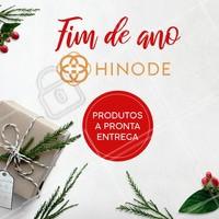 Natal é a época perfeita para presentear quem você mais ama com produtos Hinode! Temos a pronta entrega. Entre em contato para saber mais! #hinode #ahazou #revendedoras #natal #presentes
