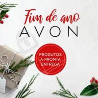 Natal é a época perfeita para presentear quem você mais ama com produtos Avon! Temos a pronta entrega. Entre em contato para saber mais! #avon #ahazou #revendedoras #natal #presentes